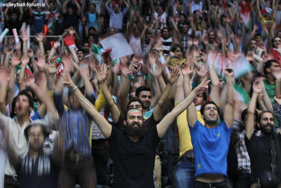 منتخب عکس های دیدار دوم تیم ملی والیبال ایران و آلمان !