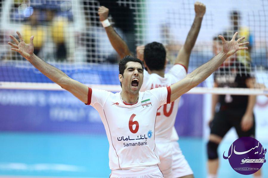 بهترین های مرحله مقدماتی لیگ جهانی؛محمد موسوی بهترین مدافع لیگ جهانی !