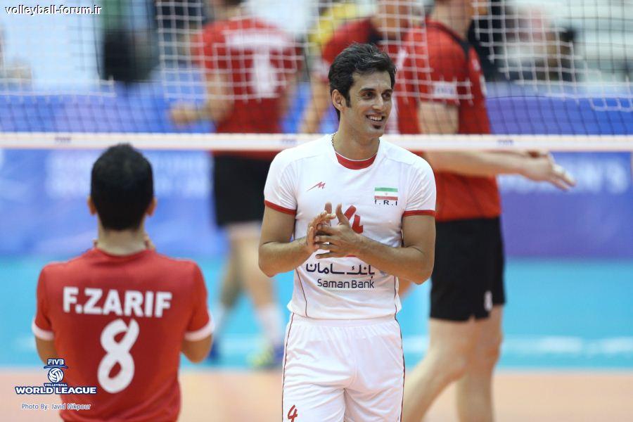 حاشیههایی از پخش تلویزیونی والیبال ایران و آلمان !
