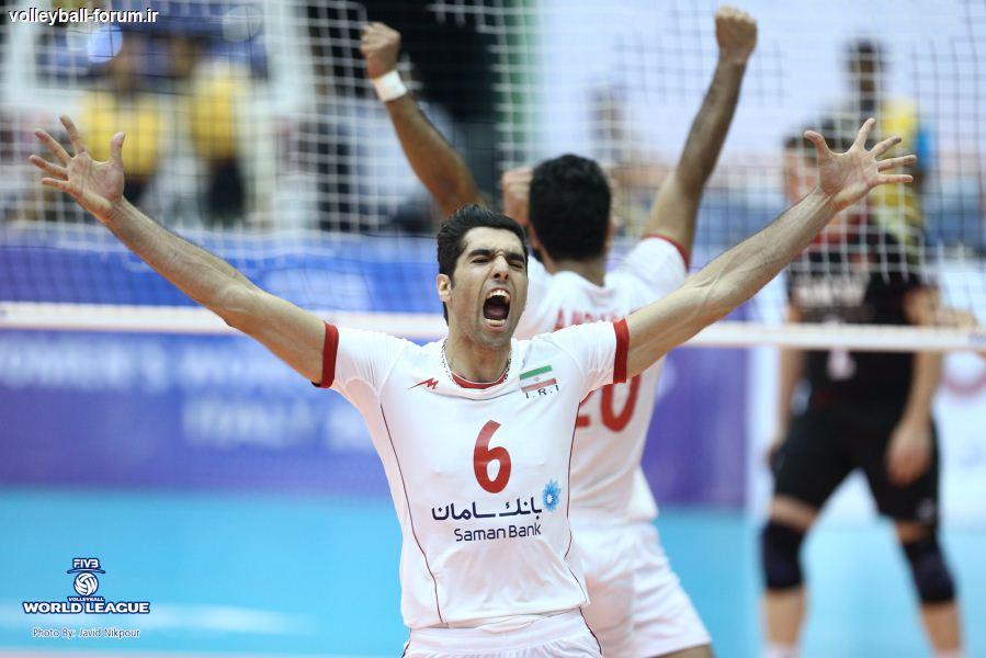نتیجه زنده بازی دوم تیم ملی والیبال ایران و آلمان + آمار لحظه به لحظه بازی !