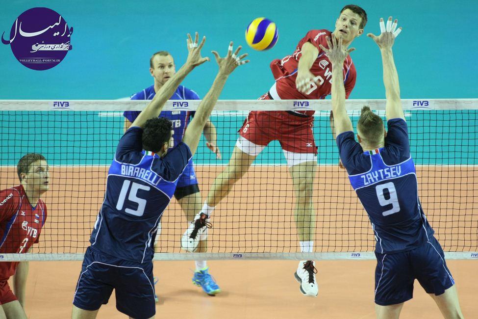 روسیه و برزیل فینالیست های لیگ جهانی 2013 والیبال !