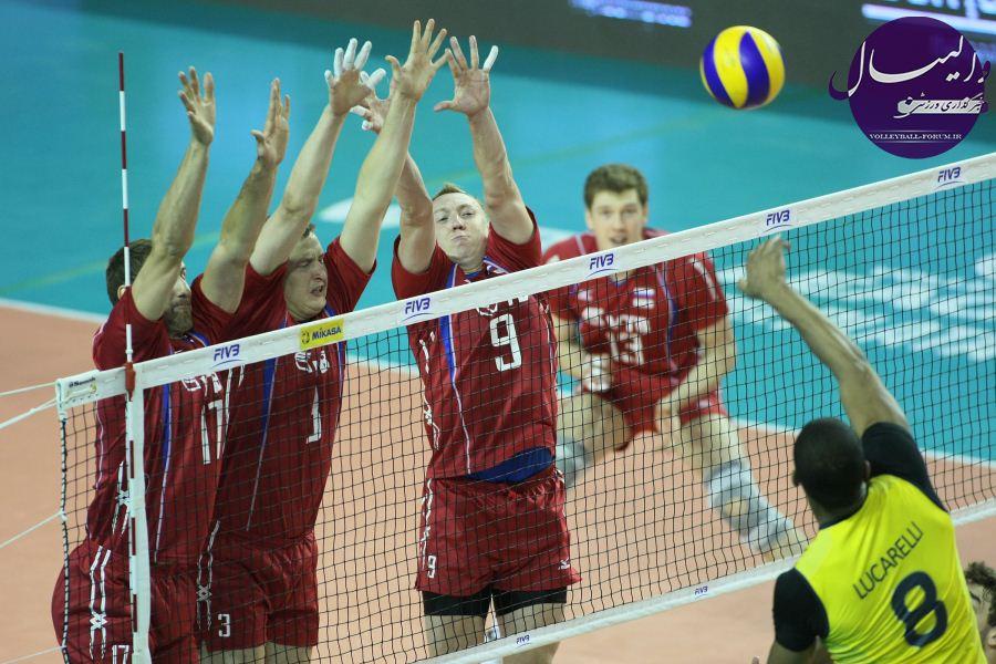 نتایج روز اول مرحله نهایی لیگ جهانی ؛پیروزی روسیه و بلغارستان برابر حریفان !