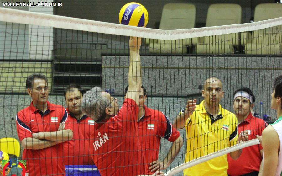 گزارش تصویری از آغاز تمرینات تیم ملی والیبال ایران در سال 1392 !