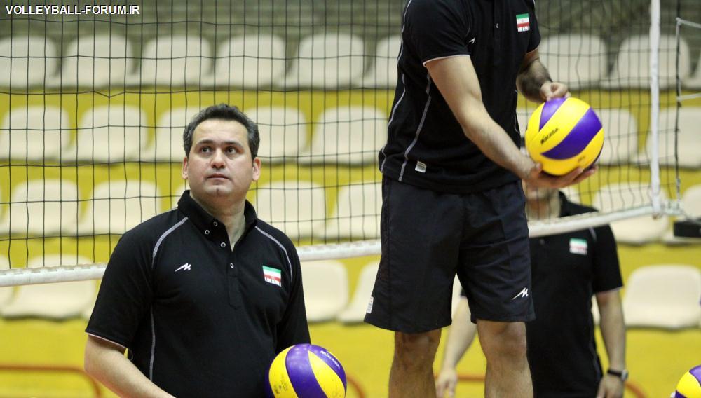 مصاحبه حسین معدنی پس از حضور در تمرین تیم ملی :نشستن روی نیمکت برایم اهمیتی ندارد!