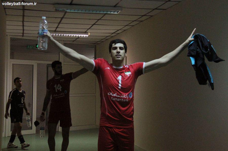 آماری جالب از تیم ملی والیبال ایران و روسیه / ایران جوان تر از روسیه !