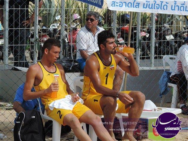 حضور تیم های ملی ساحلی ایران در انتخابی المپیک