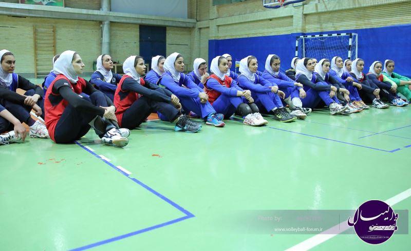 ترکیب تیم اعزامی والیبال بانوان به مسابقات قهرمانی آسیا اعلام شد