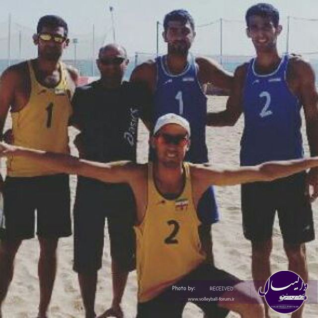انتخابی المپیک آسیای مرکزی؛ پیروزی ساحلی بازان ایران برابر هند