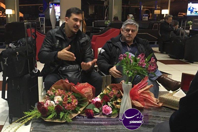 لوزانو و سیچلو وارد تهران شدند