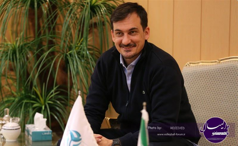 سیچلو : والیبال ایران شگفت انگیز است