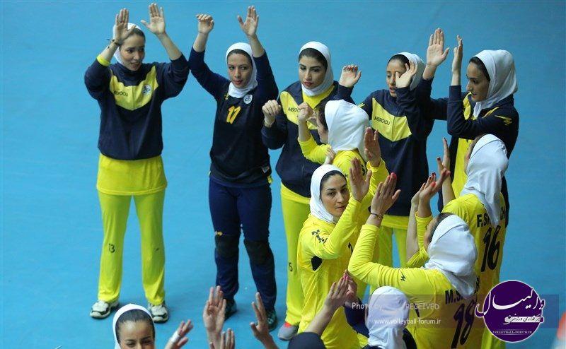 گاز تهران قهرمان لیگ برتر والیبال بانوان شد