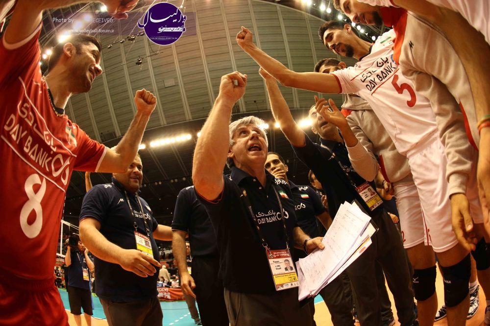 ایران با یک پله صعود به صدر تیم های آسیایی رسید