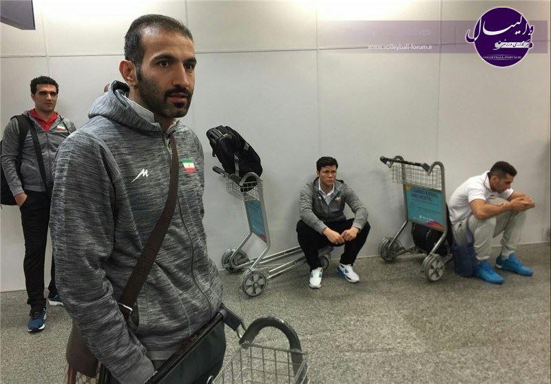تیم ملی والیبال پس از سفری ۲۹ ساعته به ریو رسید