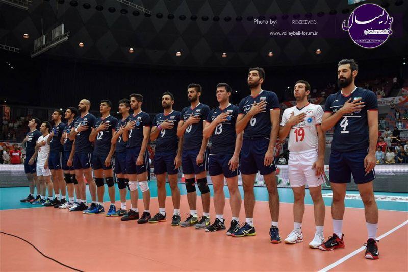 برنامه کامل دیدارهای تیم ملی والیبال ایران در لیگ جهانی+ عکس