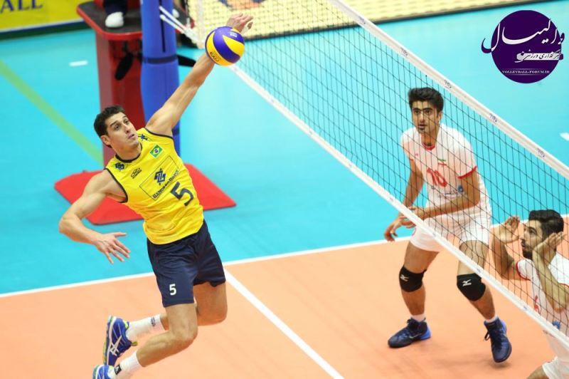 ویدیو / پیش بازی والیبال ایران - برزیل