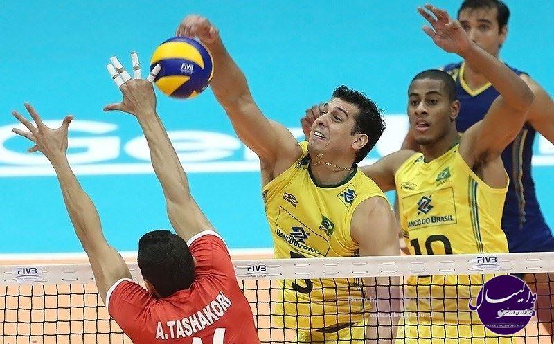پیش بازی والیبال ایران - برزیل / غول کشی ادامه دارد؟