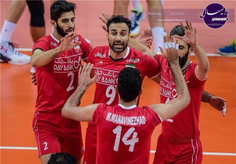 مهدوی و تشکری به تهران برمیگردند / اسامی ۱۴ بازیکن ایران در هفته دوم لیگ جهانی والیبال اعلام شد