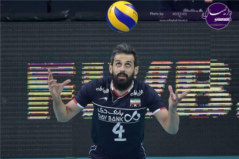 ویدیو / حواشی بازی والیبال ایران - آرژانتین