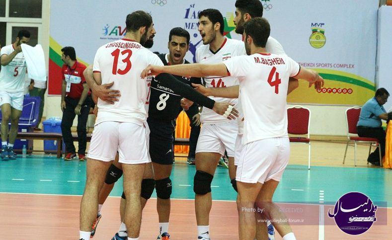 ژاپن حریف بعدی امیدهای والیبال ایران
