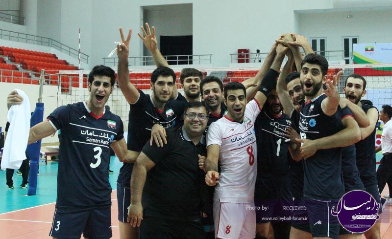 گزارش تصویری از مسابقات قهرمانی زیر 23 سال  مردان آسیا / ایران VS ژاپن