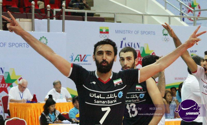 ستاره های ایران در میان بهترین های آسیا / پوریا فیاضی ارزشمند ترین بازیکن رقابت ها