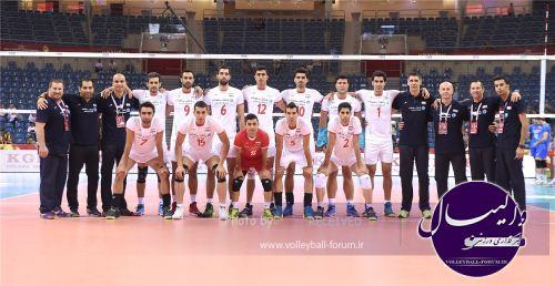 معرفی تیم ملی ایران در سایت فدراسیون جهانی والیبال ؛ صعود به المپیک دور از ذهن نیست