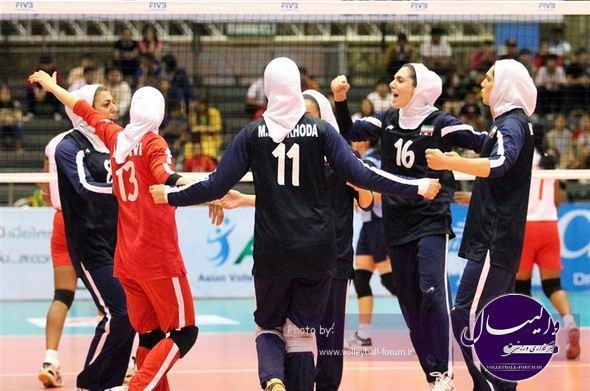 واليبال قهرماني زنان آسيا /شکست تیم ملی ایران مقابل ویتنام در مرحله دوم
