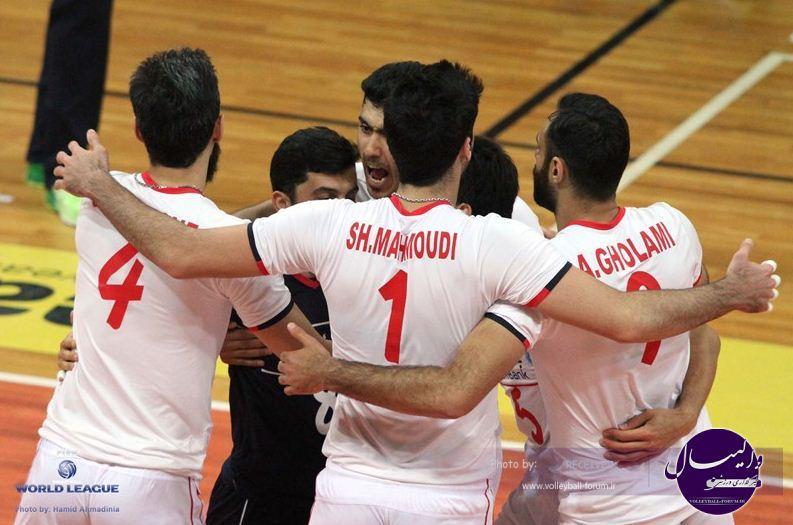 نتیجه ی دومین دیدار ایران3 - 0جمهوری چک
