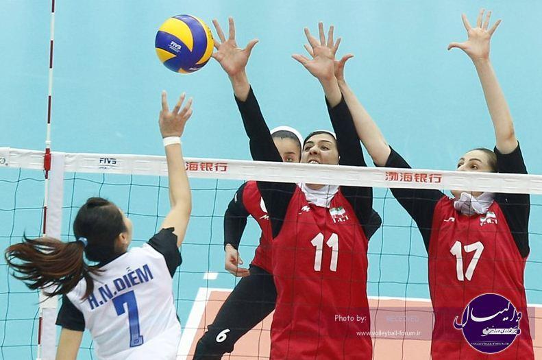 نتایج چهارمین روز قهرمانی زنان اسیا + برنامه روز پنجم