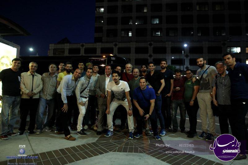 مردان والیبال ایران در لس آنجلس