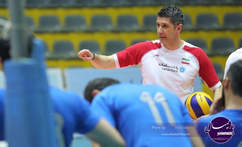 گزارشی از نخستین تمرین تیم ملی والیبال / حضور سجادی در تمرین با نشاط ملی پوشان