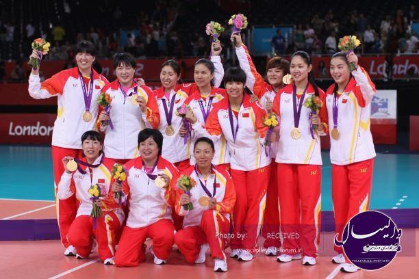 چین قهرمان والیبال زنان آسیا شد