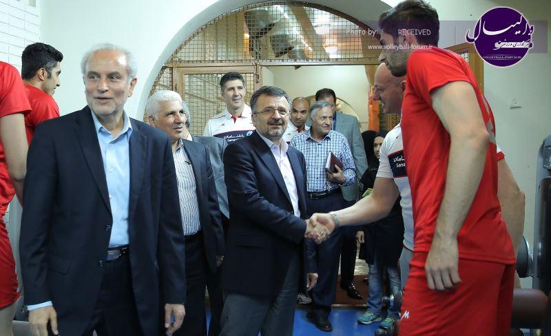 داورزنی : تلاش ما رسیدن به مرحله نهایی لیگ جهانی است / قهرمانی آسیا را تهران تکرار خواهیم کرد