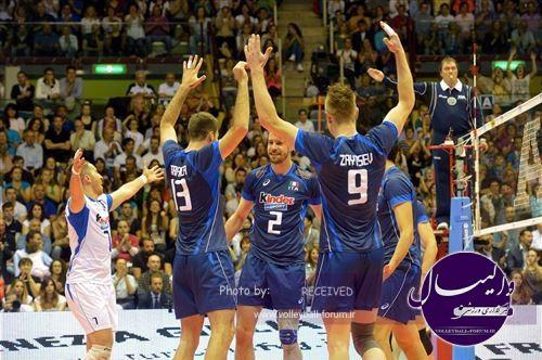 پیروزی ایتالیا بر استرالیا در اولین گام لیگ جهانی والیبال