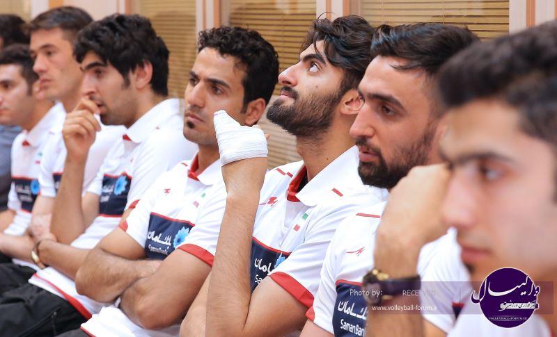 امیر غفور : هدف ما صعود به المپیک است / مصدومیت کتفم مشکل اصلی من است