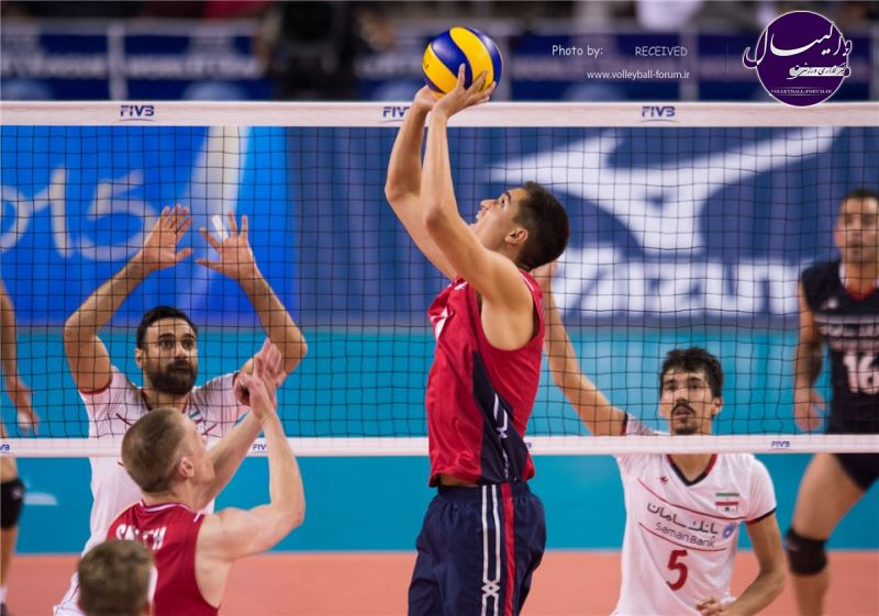 گزارش تصویری دیدار نخست ایران 1-3 آمریکا