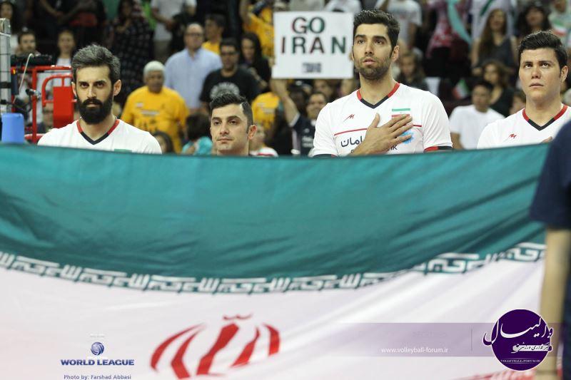 گزارش تصویری از اولین مسابقه امریکا و ایران / شماره 1