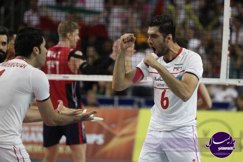 اکبری: بازیکنان ایران توانایی شکست آمریکا را دارند