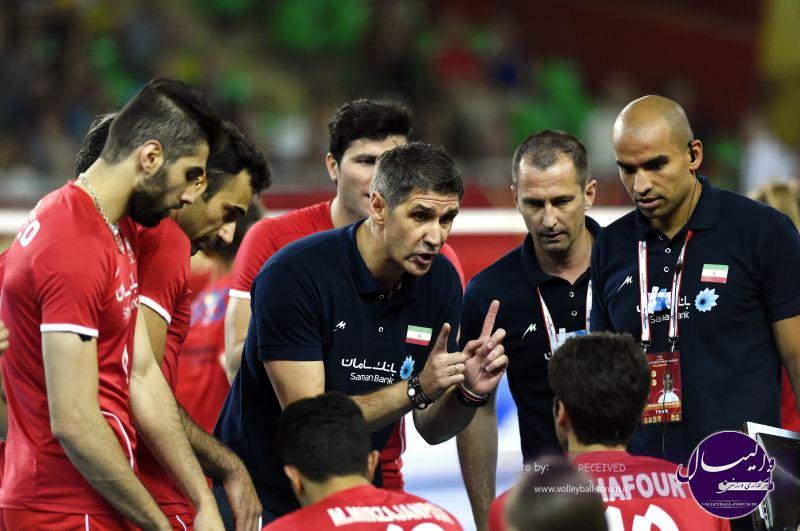 نتیجه زنده دومین دیدار ایران 1-3 آمریکا