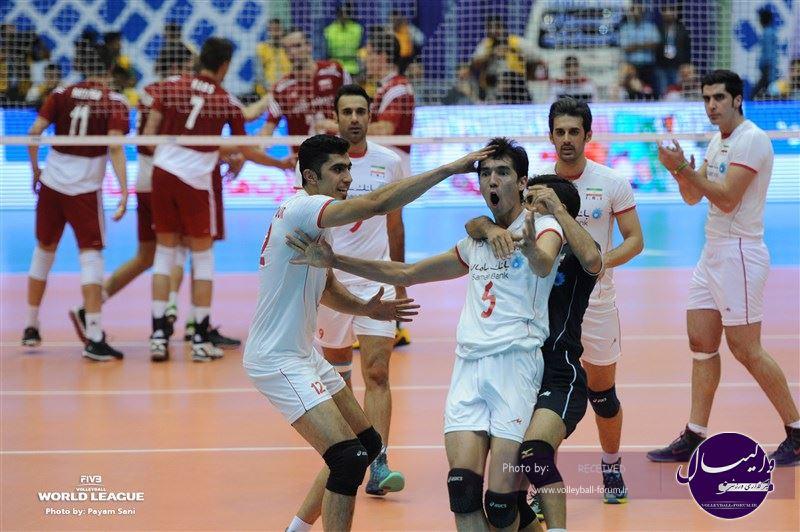 نتیجه دومین دیدار ایران 2-3 لهستان / تیم ملی والیبال ایران به لهستان باخت اما امتیاز گرفت