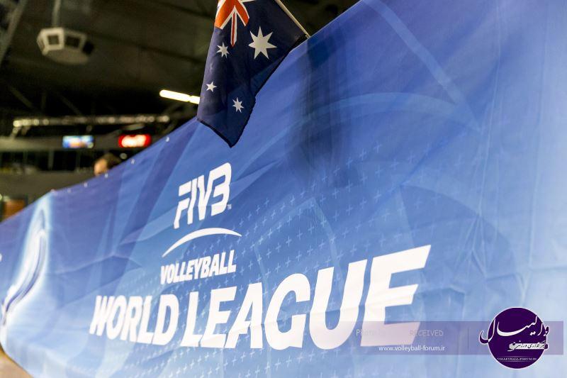 خلاصه دیدار های روز دوم هفته چهارم لیگ جهانی والیبال (ویدیو)