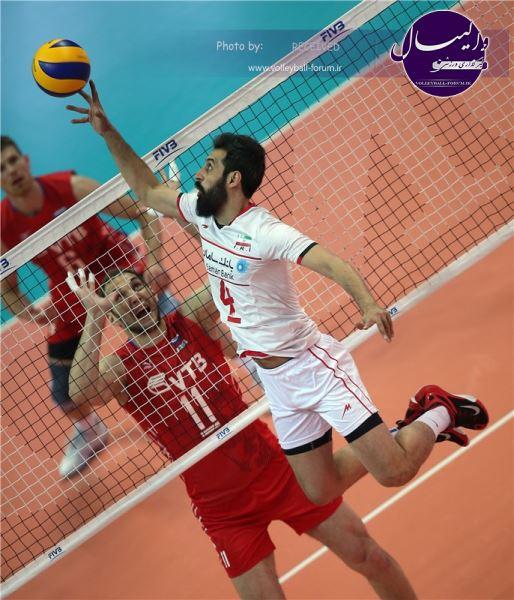 تیتر FIVB، پاسخ باورنکردنی ایران به روسیه !