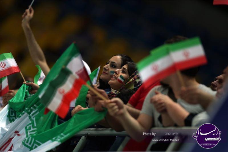گزارش تصویری ایران 3-1 روسیه (شماره 2)