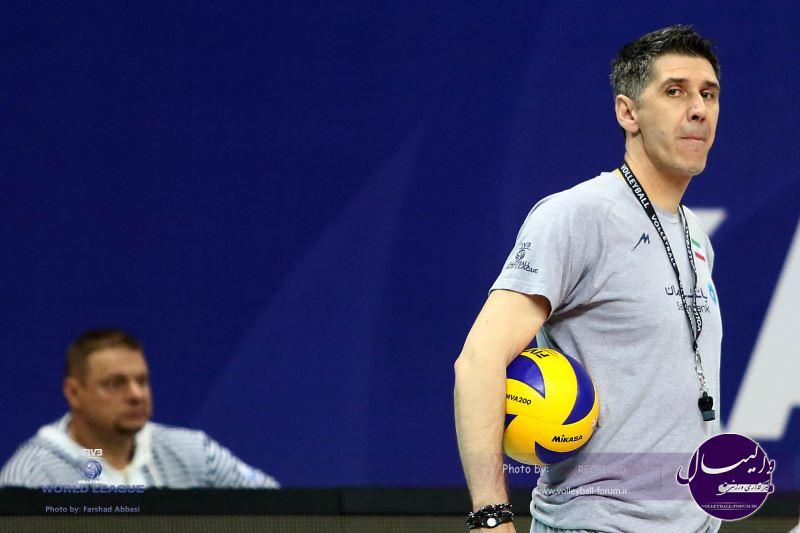 مصاحبه مربیان ، بازیکنان ایران و روسیه پس از نخستین دیدار (شماره 1)