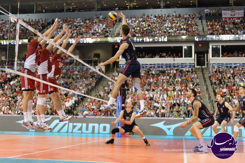 آمریکا همچنان در لیگ جهانی میتازد/ لهستان دستیافتنی شد