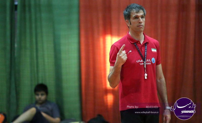 مربی تیم والیبال نوجوانان: نباید در باد قهرمانی آسیا باشیم