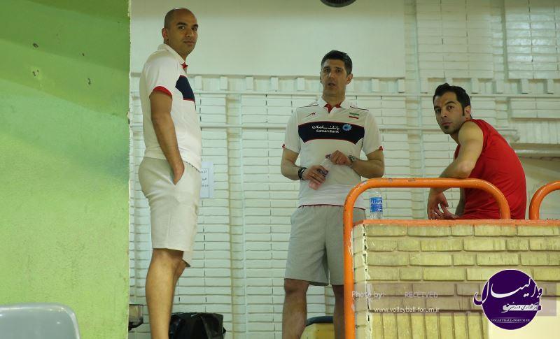 تمرین تیم ملی والیبال برای حضور در لیگ جهانی (ویدیو)
