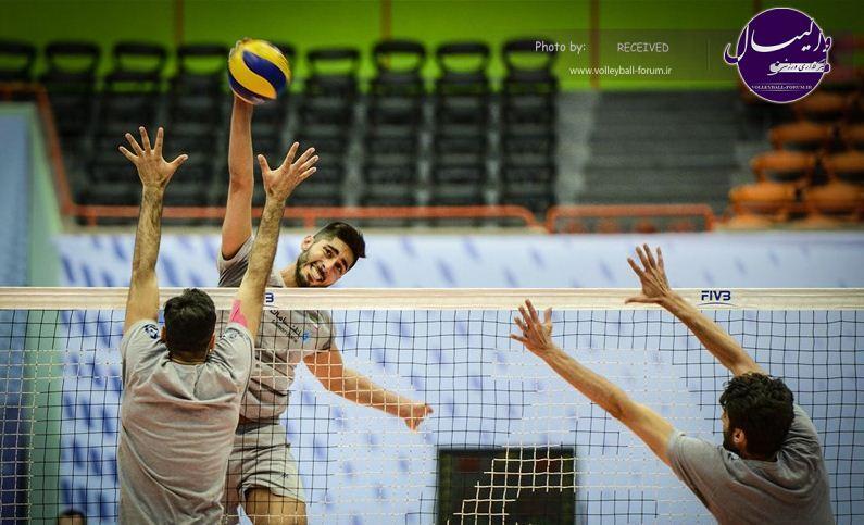 گزارش تصویری از تمرین مردان والیبال ایران