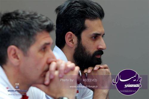 معروف:وقتی حریف خوب بازی میکند،ایران اشتباه میکند.