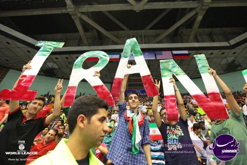 گزارش تصویری دیدار نخست ایران 3-0 آمریکا (شماره 1)